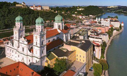 Passau mit den Enkelkindern